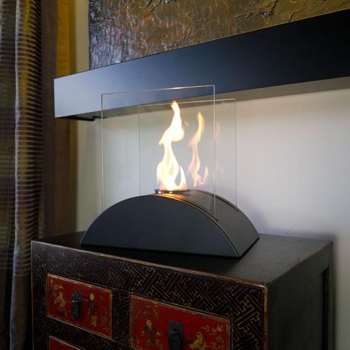 ... Estro Tabletop Fireplace By Nu Flame, Estro Modern ...